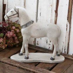 Dekoracja Chic Antique Koń Duży
