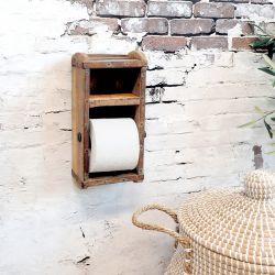 Toilet paper holder of brick mould