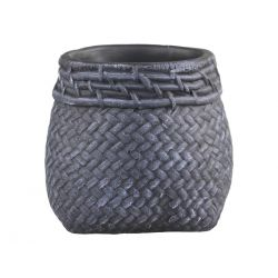 Corte Flowerpot w. braided pattern