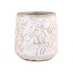 Colmar Flowerpot w. flowers