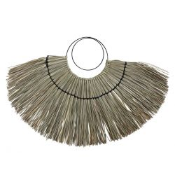 Deco Fan of seagrass for wall