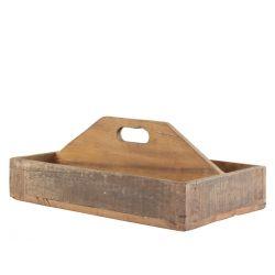 Grimaud Box in wood w. handle