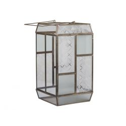 Lantern frosted glass