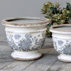 Ceramiczna Osłonka Na Doniczkę Chic Antique Melun D