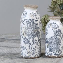 Ceramiczny Wazon Butelka Chic Antique Melun A