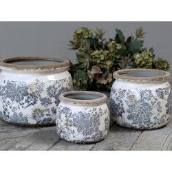 Ceramiczna Osłonka Na Doniczkę Chic Antique Melun C