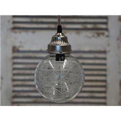 Szklana Lampa Kula 6