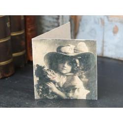 Kartka z Dziewczynką Chic Antique Mała 3