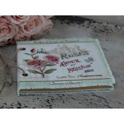 Notatnik Chic Antique Róże 1