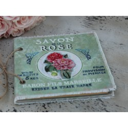 Notatnik Chic Antique Róże 2