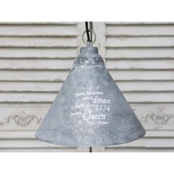 Metalowa Lampa French Chic