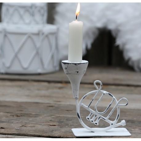 Świecznik Chic Antique Trąbka