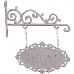 Szyld Metalowy Chic Antique Welcome