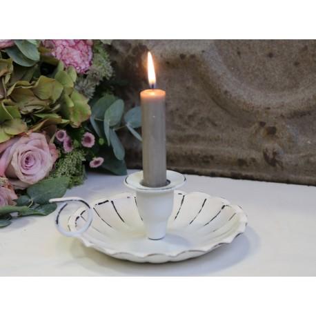 Świecznik Antique White