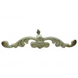 Gałki meblowe iron antique white L11,5 cm