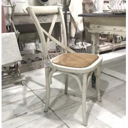 Krzesło z Rattanem Chic Antique