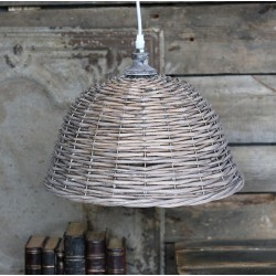 Wiklinowa Lampa Chic Antique