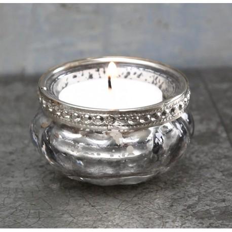 Srebrny Świecznik Na Tealight Chic Antique