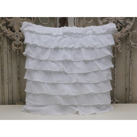 Poduszka z falbankami