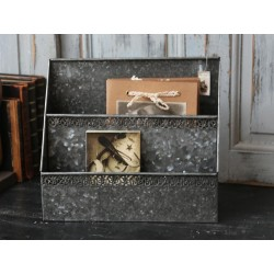 Metalowy Organizer Chic Antique
